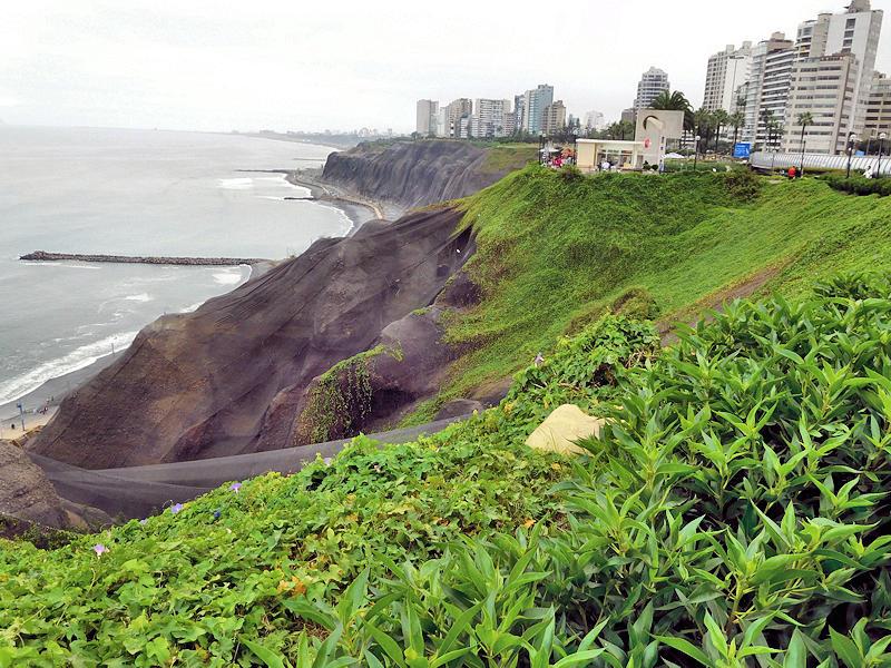 Lima Peru Cliffs