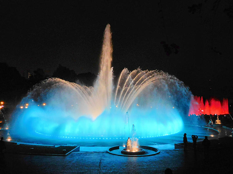 Magic Water Circuit, Lima Peru