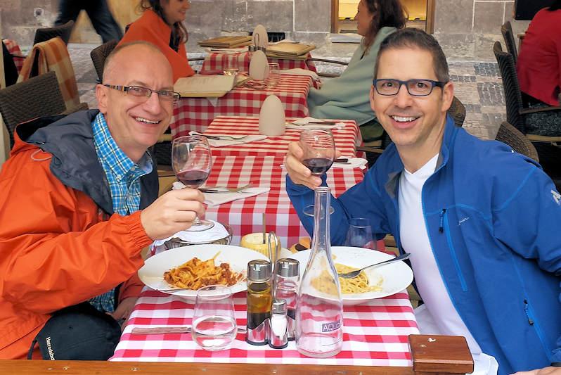 Dining in Prague
