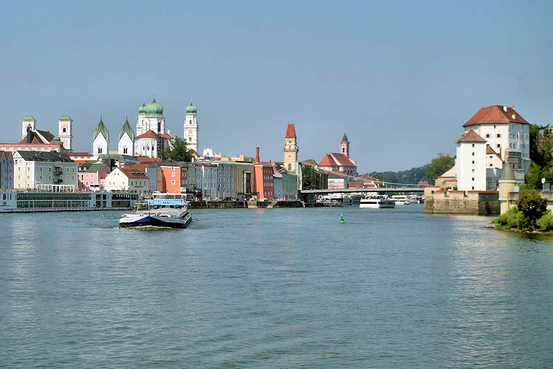 Passau, Germany, Danube River