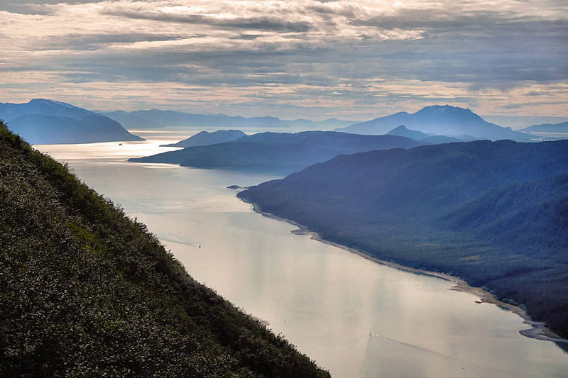 Juneau, Alaska from Mt Roberts