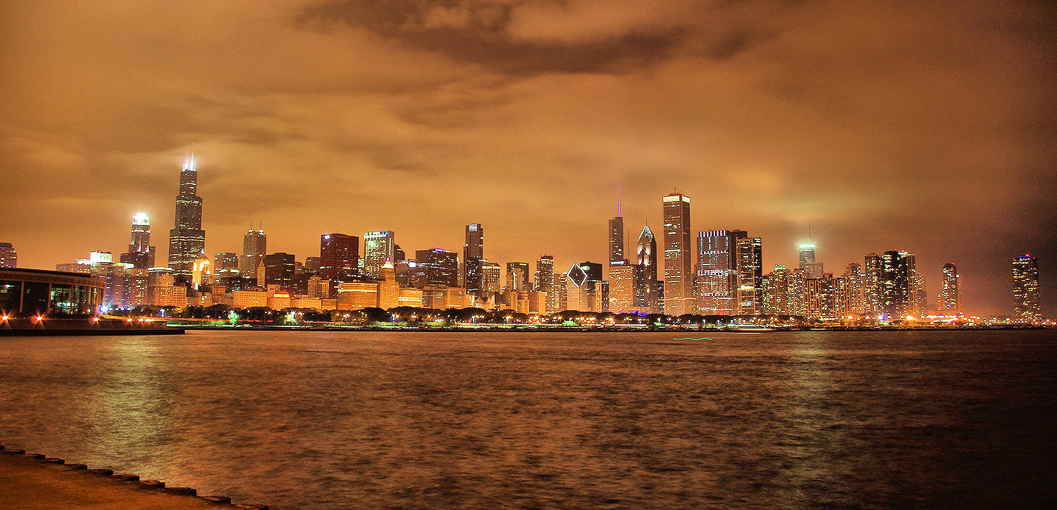 Downtown Chicago Panoramic