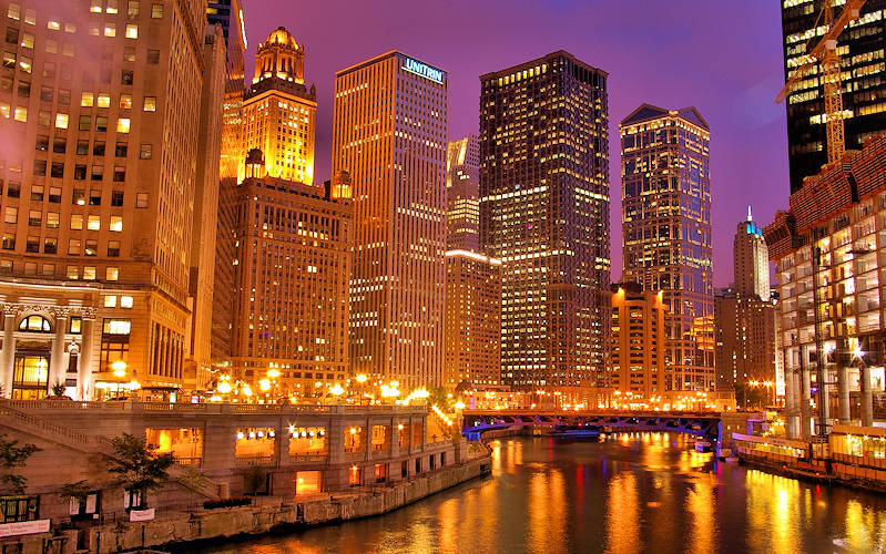 Chicago River Downtown