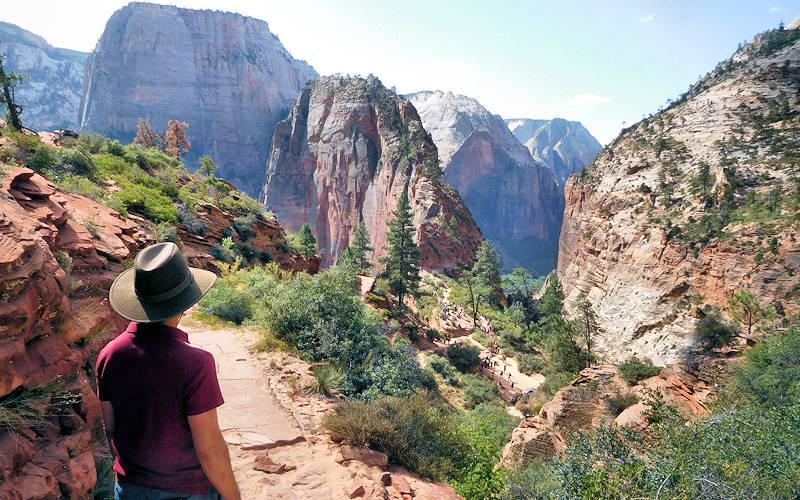 Zion National Park West Rim Hike