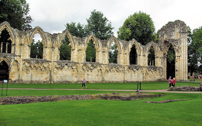 Abbey of St Mary, York